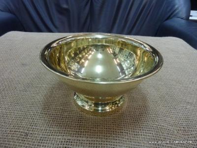 Новая полоскательная чаша под самовар. Арт.102пч