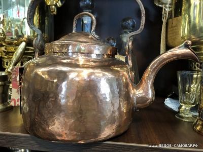 Чайник товарища Сухова, красно-медный 3,5 литра. Арт.102чмК