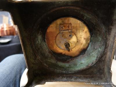 Трактирный антикварный самовар на углях, фабрики Тейле в Туле, 16л. Арт.408аL
