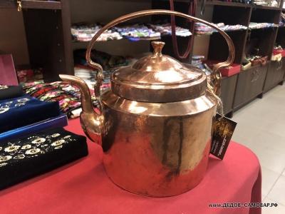 Чайник товарища Сухова, красно-медный 3 литра. Арт.112чмРЗ