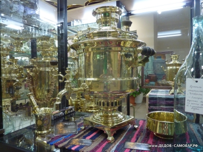 Огромный антикварный самовар Ампирная ваза московская Шапошникова Арт.185а