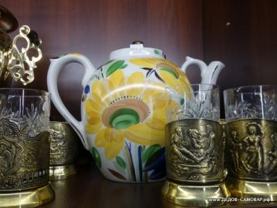 Большой чайник для заваривания чая, новый в ассортименте. Арт.47чф