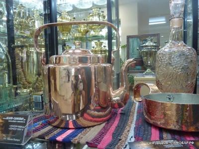 Антикварный медный чайник на 3,5 л. 19 век Арт.29чнм