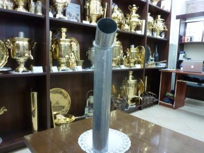Труба с деревянной ручкой для самовара. АРТ.2ТрО