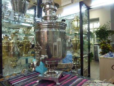 Самовар жаровой антикварный наследников В.С. Баташева в Туле Арт.215а