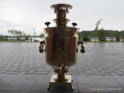 Самовар жаровой антикварный наследников В.С. Баташева в Туле Арт.248аРЗ