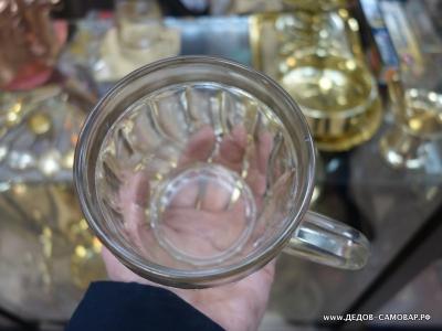 Редкая пивная пузатая кружка, грань винтом, СССР, 1950-е  0,5 литра