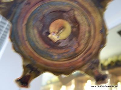 """Самовар Тульский жаровой """"рюмка"""" гладкая, СССР, 7 л. Арт.493л"""