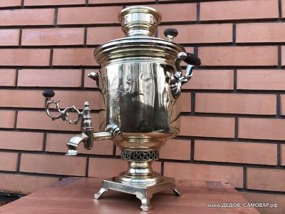 Самовар жаровой антикварный наследников В.С. Баташева в Туле Арт.502ВРЗ