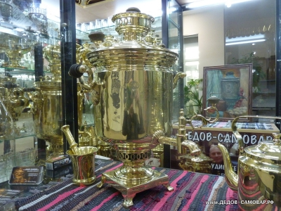 Самовар жаровой антикварный наследников В.С. Баташева в Туле